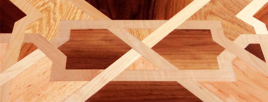 Al Andalus traditional luxury wood floors...