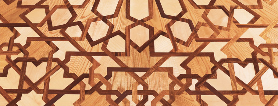 Al Andalus luxury wood floors...