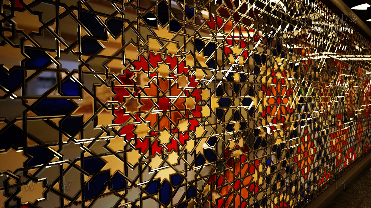 Islamic Geometric Design Patterns