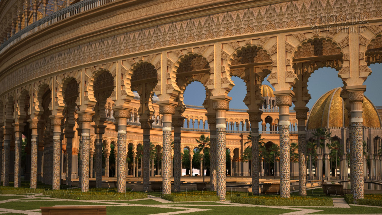 Worldwide moroccan architecture and decoration services for Architectural columns