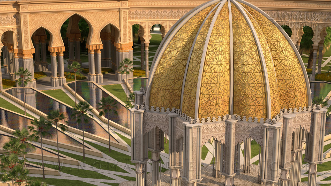 Worldwide moroccan architecture and decoration services for Modern islamic building design