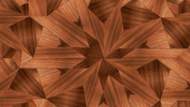 Wood floor illustration close up