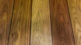 Walnut timber selection